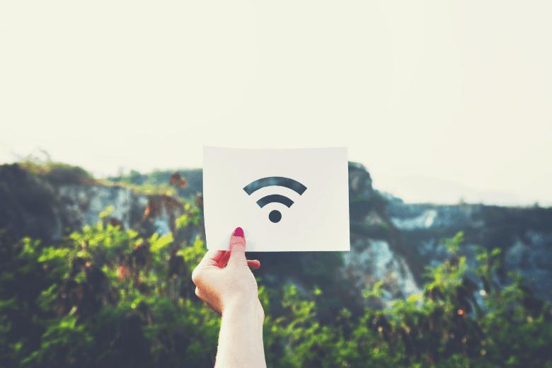 Wifi signal in nature